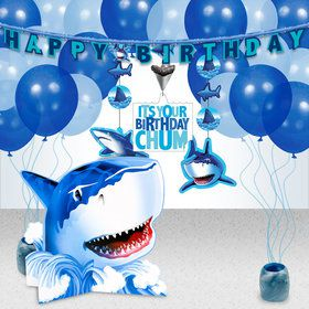 Shark Party Decoration Kit
