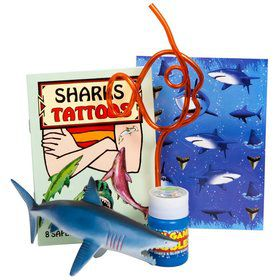 Shark Party Favor Kit (for 1 Guest)