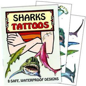 Shark Tattoo Book (each)