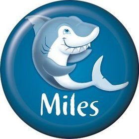 Sharks Personalized Mini Button (each)