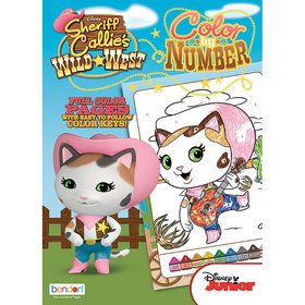 Sheriff Callie Activity Book with Stickers