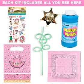 Sheriff Callie Cowgirl Favor Kit (Each)
