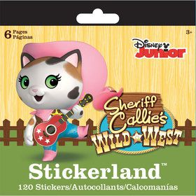 Sheriff Callie Mini Sticker Pad (120 Stickers)