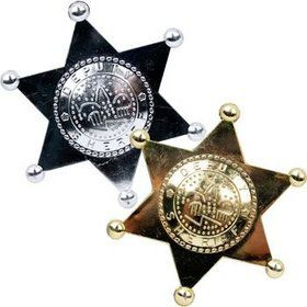 Sheriff's Badge (12 Count)
