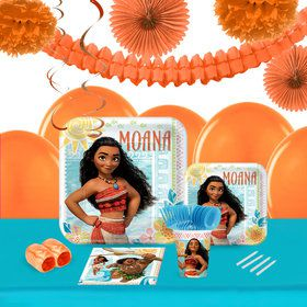 Disney Moana 16 Guest Tableware Deco Kit