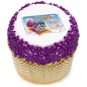 "Shimmer and Shine 2"" Edible Cupcake Topper (12 Images)"