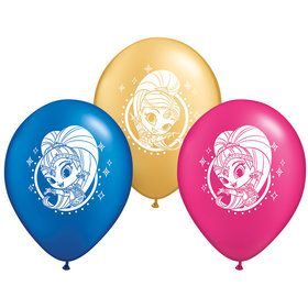 "Shimmer and Shine 2"" Latex Balloons (6 Count)"