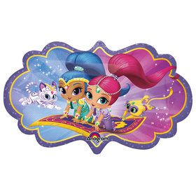 "Shimmer And Shine 27"" Shape Balloon"