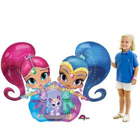 "Shimmer and Shine 53"" Airwalker Balloon (Each)"