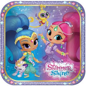 "Shimmer and Shine 7"" Cake Plate (8 Count)"