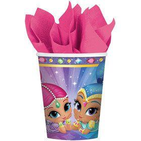 Shimmer and Shine 9oz Paper Cups (8 Count)
