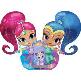 "Shimmer and Shine 53"" AirWalker Foil Balloon (Each)"