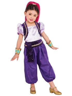 Shimmer and Shine Deluxe Shimmer Kids Costume