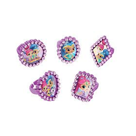 Shimmer and Shine Jewel Ring Favors (18 Count)