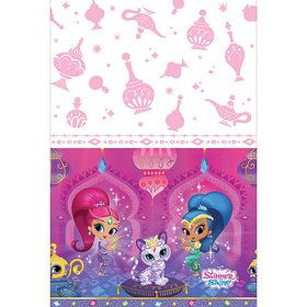 Shimmer and Shine Plastic Table Cover (Each)