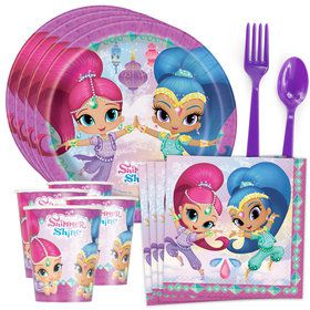 Shimmer and Shine Standard Tableware Kit (Serves 8)