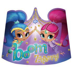 Shimmer and Shine Tiaras (8 Count)