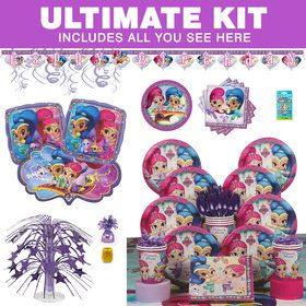 Shimmer and Shine Ultimate Tableware Kit (Serves 8)