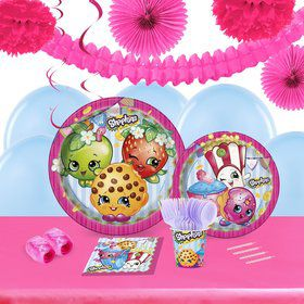 Shopkins 16 Guest Tableware Deco Kit
