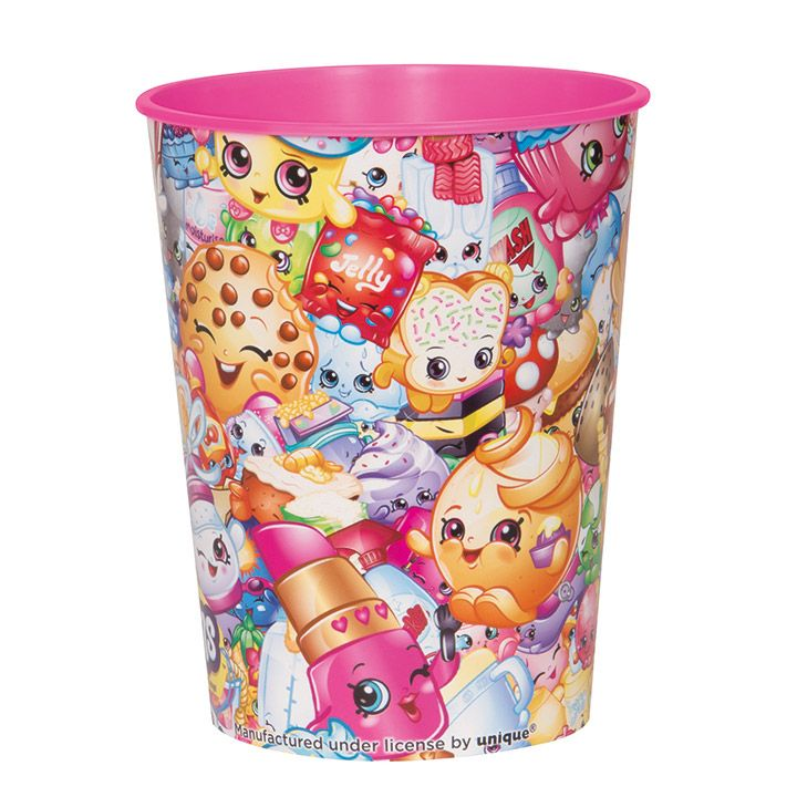 Shopkins 16Oz. Plastic Favor Cup (Each) BB42917