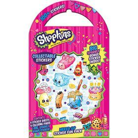 Shopkins All Mixed Up Sticker Fun Pack