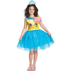 Shopkins Cupcake Queen Costume for Girls