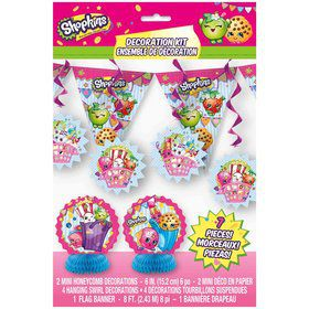 Shopkins Decoration Kit (7 Pieces)