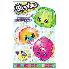 Shopkins Fabulous Food Activity Album