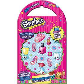 Shopkins Fashion and Beauty Sticker Fun Pack