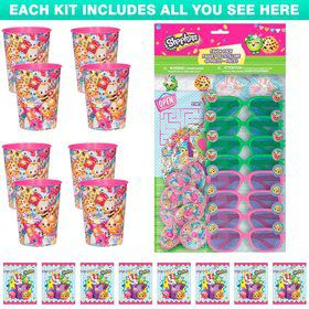Shopkins Favor Kit (For 8 Guests)