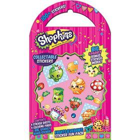 Shopkins Fruit and Veggie Sticker Fun Pack