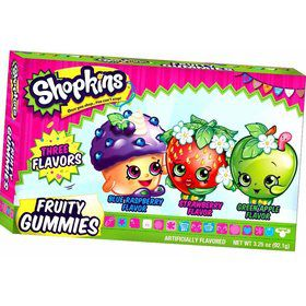 Shopkins Fruit Gummies Theater Box