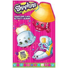 Shopkins Home and Fashion Activity Album