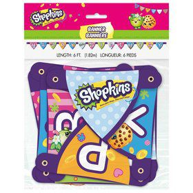 Shopkins Large Jointed Banner (Each)