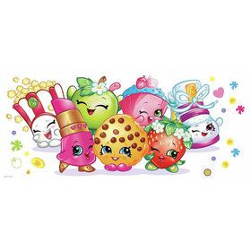 Shopkins Pals Peel and Stick Giant Wall Graphic (Each)