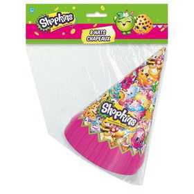Shopkins Party Hats (8 Count)