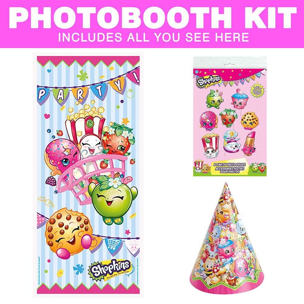 Shopkins Photo Booth Kit BBKIT1154