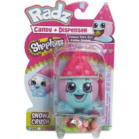 Shopkins Radz Candy Dispenser Assorted