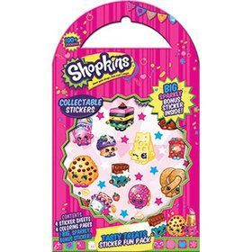 Shopkins Tasty Treats Sticker Fun Pack