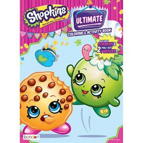 Shopkins Ultimate Activity Book