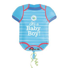 Shower with Love Boy Onesie Balloon (Each)