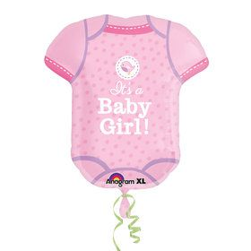Shower with Love Girl Onesie Balloon (Each)