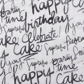 Signature Birthday Luncheon Napkins (16 Count)