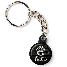 "Signature Birthday Personalized 1"" Mini Key Chain (Each)"
