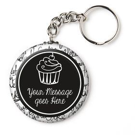 "Signature Birthday Personalized 2.25"" Key Chain (Each)"