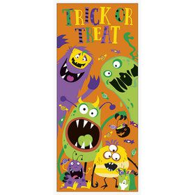 Silly Halloween Monsters Door Poster (1)