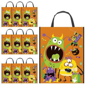 Silly Halloween Monsters Tote Bag (10)