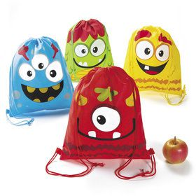 Silly Monster Drawstring Backpack (12)