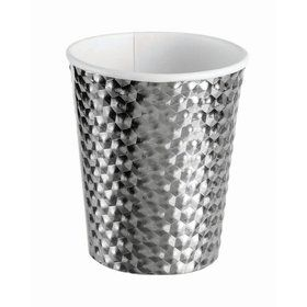 Silver 8oz Paper Cup