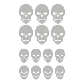 Silver Skull Sticker Sheets